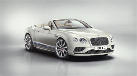 2017 Bentley Continental Gt V8 Convertible Galene Edition
