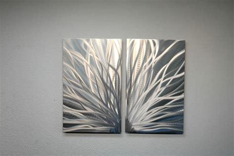 Modern Hanging Metal Wall Art Sculpture Contemporary: Abstract Metal Wall Art- Contemporary Modern Decor