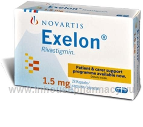exelon mg  capsulespack rivastigmin
