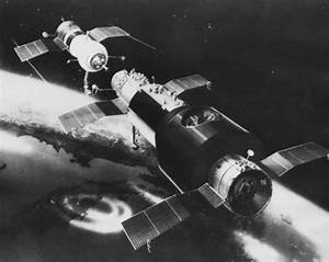Who built the first space station?