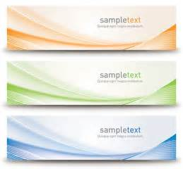 banner designer abstract banners design vector free