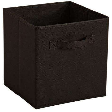 Closetmaid Black - closetmaid cubeicals fabric drawer black by closetmaid