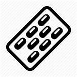 Strip Icon Pharmacy Drugs Pills Powder Medicine