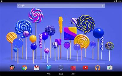 Lollipop Android Google Play Apps 3d Effect