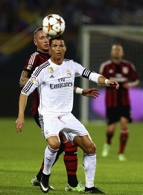 Cristiano Ronaldo Photos Photos  Ac Milan V Real Madrid