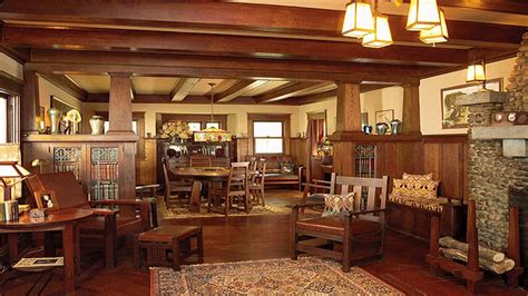 bungalow home interiors arts and crafts bungalow homes craftsman bungalow style