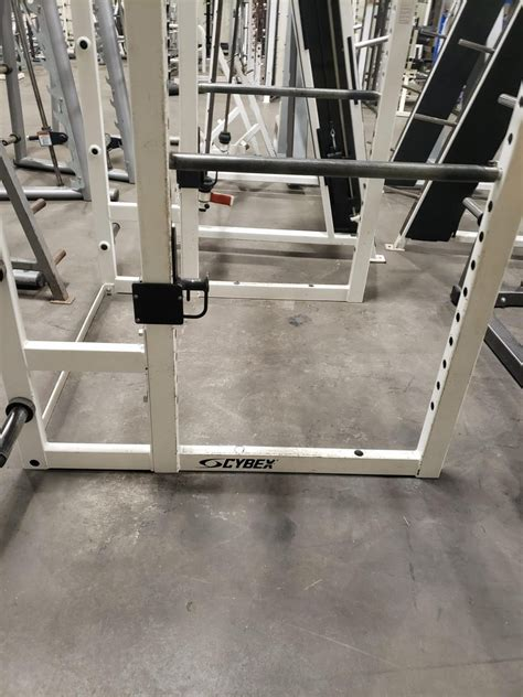 cybex power rack super fitness    gym equipment
