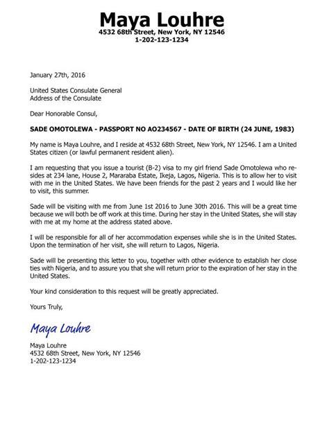Visitors Visa Sponsorship Letter Fresh Sample Invitation