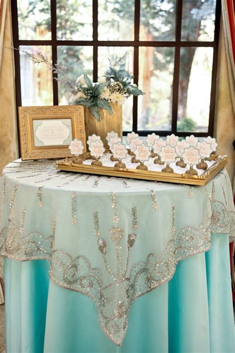Mint And Gold Winter Wedding My Daughters Wedding
