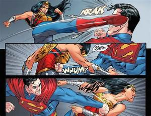 Superman VS Wonder Woman (Injustice Gods Among Us ...