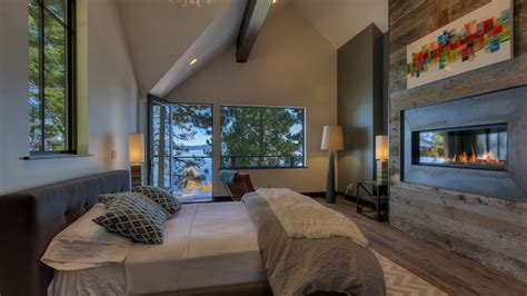 16 Ideas For Contemporary Bedrooms With Fireplace Home