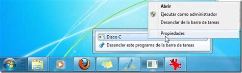 trucos para windows 7 anclar una unidad de disco en la barra de tareas