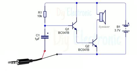 Audio Amplifier Using Transistor
