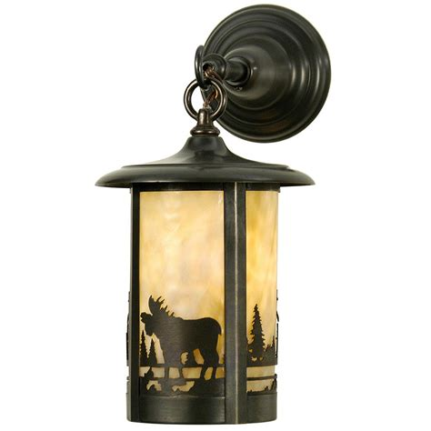 rustic lighting tall pines wall sconce cabin place