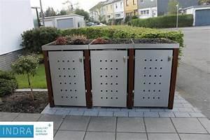 Mülltonnenbox Holz Anthrazit : m lltonnenbox holz metall kollektion ideen garten design ~ Whattoseeinmadrid.com Haus und Dekorationen
