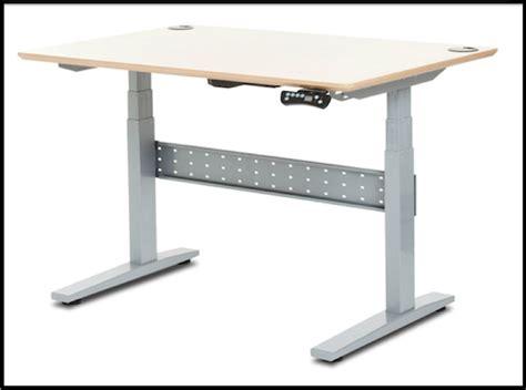 Motorized Standing Desk Base by Image Gallery Motorized Adjustable Height Workstation