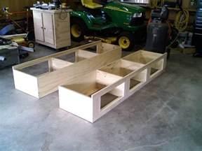 woodwork platform bed plans full size pdf plans