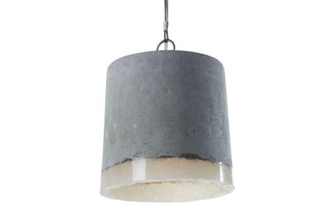 concrete pendant light large  renate vos clippings