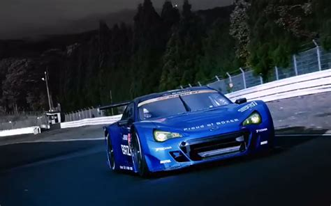 official video subaru brz gt racer forcegtcom