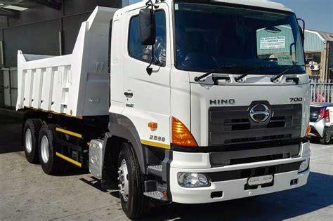 Foto Teruk Hino by 2018 Hino New Hino 700 2838 Tip Tipper Truck Trucks For