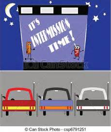 Drive in Movie Clip Art Free
