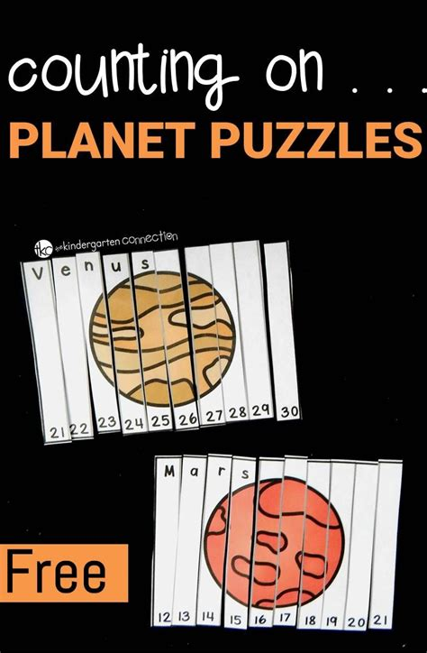 counting on planet puzzles the kindergarten connection 761 | 7a9efae7820ad62c78184ef42afdb89c