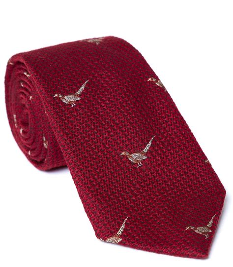 PURDEY SLIPS STANDING PHEASANT RED - Slips + Butterfly ...