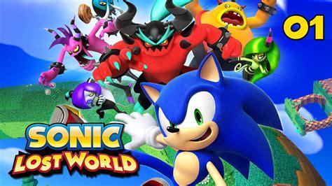 Sonic Lost World Прохождение Pt1 Youtube