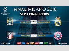 Best tweets on the tasty CL semifinal draw as Man City to