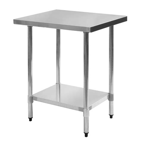 stainless steel work prep table commercial