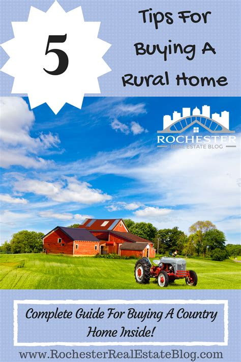 5 Tips For Buying A Rural Home  How To Buy A Country House