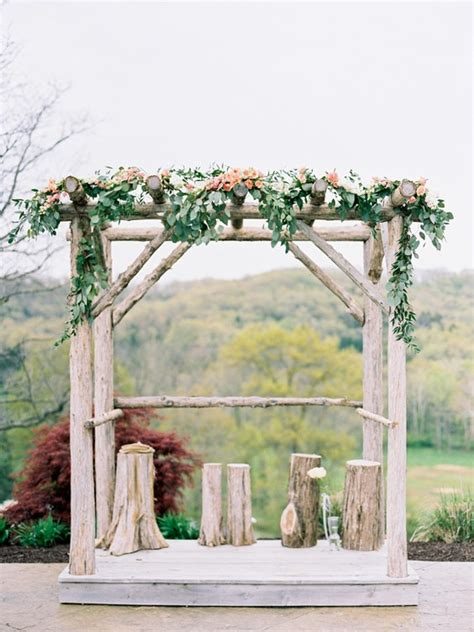 perfect ideas   rustic wedding deer pearl flowers