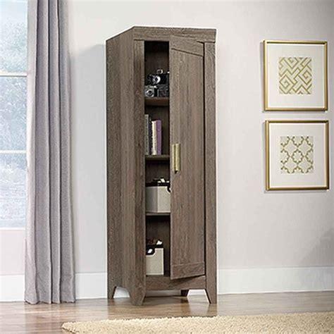 sauder oak storage cabinet sauder adept fossil oak storage cabinet 418138 the home