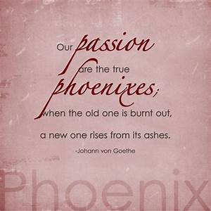 7 best meaningf... Phoenix Bird Tattoo Quotes