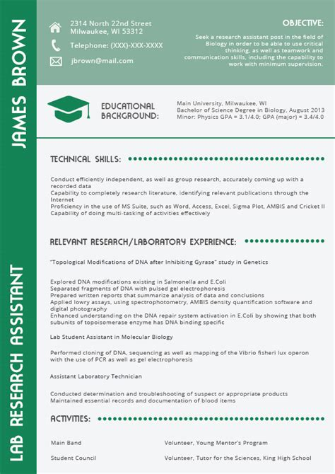 the best resume format for engineers in 2016 on behance