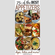 75+ Appetizer Recipes  Thanksgiving, Look At And Best Appetizer Recipes