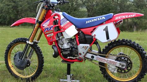Classic Honda Dirt Bikes
