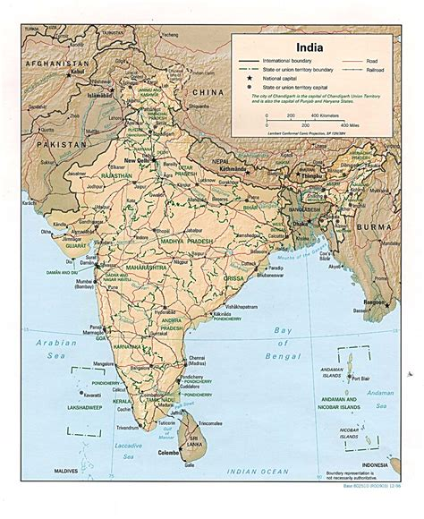 india maps perry castaneda map collection ut library