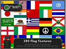 Second Life Marketplace GD 280 Flag Textures [Full Perm