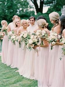 2017 summer wedding color trends elegant blush stylish With summer wedding bridesmaid dresses