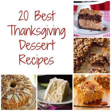 thanksgiving dessert recipes willow bird baking
