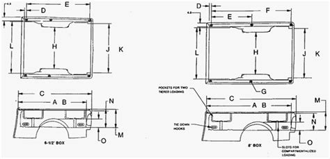 I'm Looking For Detailed Bed Dimensions For The 2002 F150