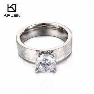 fashion jewelry 1pair classic wedding ring sets cubic With stainless steel wedding ring sets