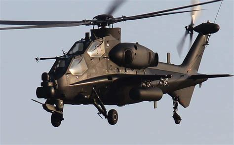 Chinese CAIC Z-10 Helicopter Gunship Is Believed to ...