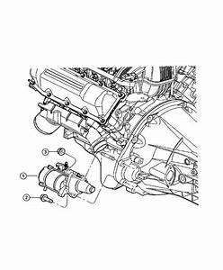 Dodge Ram 1500 Starter  Engine