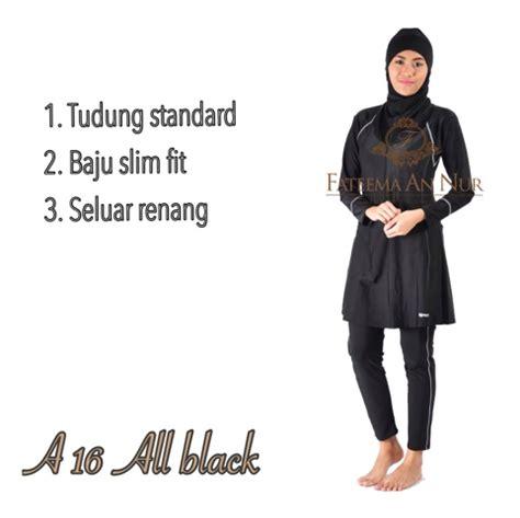 baju renang muslimah baju renang slim fit dewasa plus