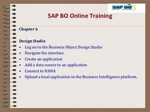Sap Bo 4 1 Online Trainings