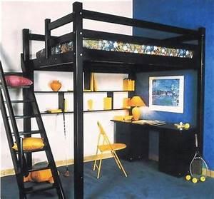 Lit 1 Place Mezzanine : chambre avec lit mezzanine 2 places 6 lit mezzanine cgrio ~ Teatrodelosmanantiales.com Idées de Décoration