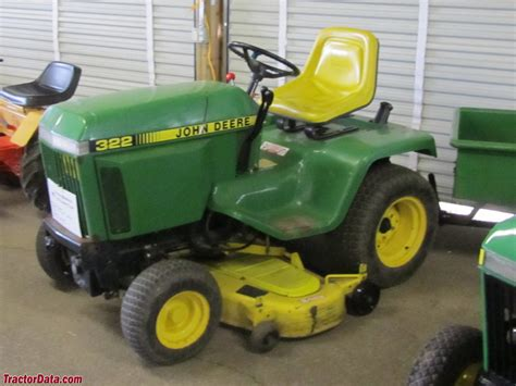 John Deere 322 Lawn And Garden Tractor Service Manual