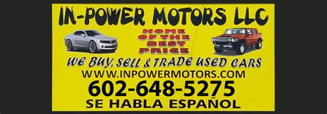 car dealership  phoenix  credit  power